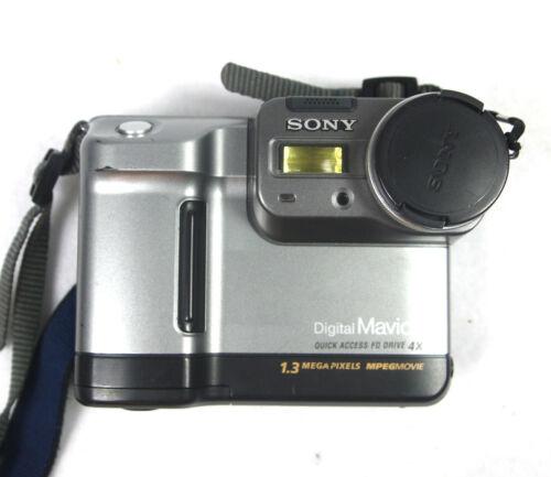 Sony Mavica MVC-FD88 1.3MP Digital Floppy Disk Camera - Untested