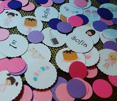 Girls Birthday Party Decorations 300 count- Pancake and Pajamas Confetti](Pj And Pancake Party)