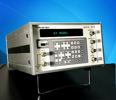 Wavetek Model 273 12mhz Programmable Sweep Function Generator