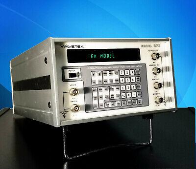 Wavetek Model 273 12mhz Programmable Sweep Function Generator