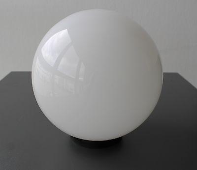 Glas Lampenschirm Ersatzglas Kugel weiß E27 Lochmaß Fassung ø 72 mm