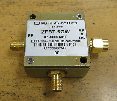 Mini Circuits ZFBT-6GW Bias Tee 0.6-6000MHz