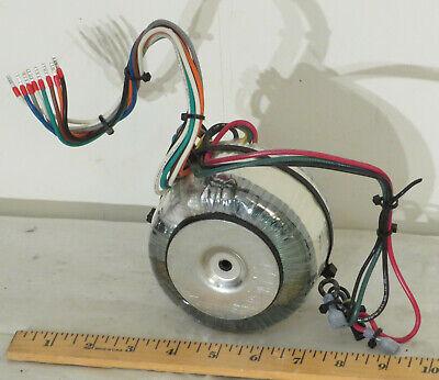 280va Toroidal Power Transformer Dual 100115 Primary Dual 28v 5a Secondary