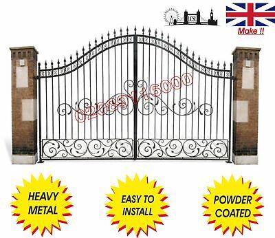 DRIVEWAY GATES / METAL GATES / COMPOSITE WOOD GATE/ WROUGHT IRON GATE/BI FOLDING