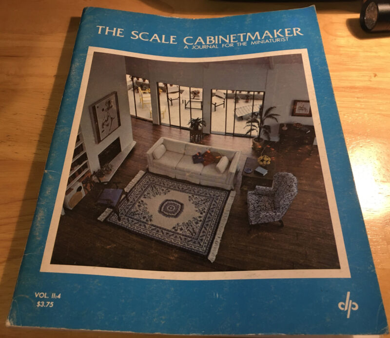 The Scale Cabinetmaker  May 1978