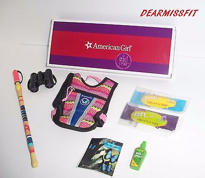 AMERICAN GIRL DOLL LEA CLARK'S HIKE ACCESSORIES  - NEW WITH  BOX