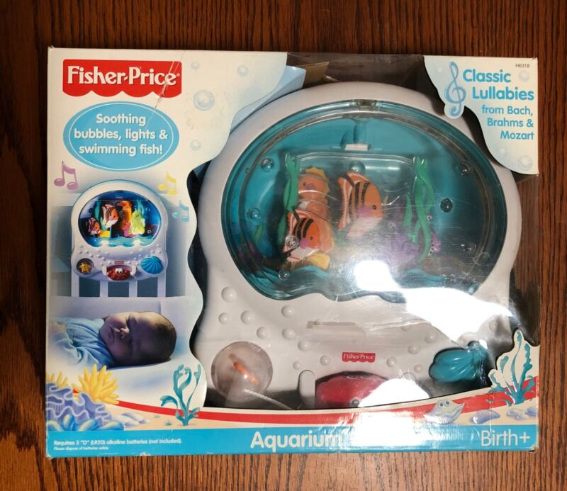 NEW, Opened and Tested Fisher-Price Ocean Wonders Aquarium