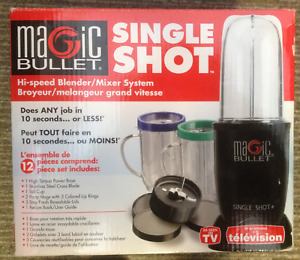 Magic Bullet Single Shot