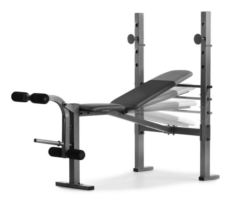 Weider 6.1 Multi-Position Weight Bench with Leg Developer