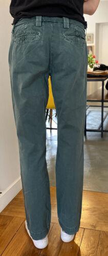 Pantalon teddy smith chinos vert t32