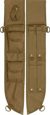 Coyote Brown Tactical MOLLE Machete Sheath Case Cover 18""