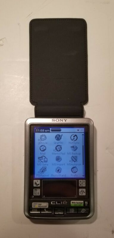 Sony Clie PDA Palm OS Personal Entertainment Organizer w/16M and 4M Memory Card