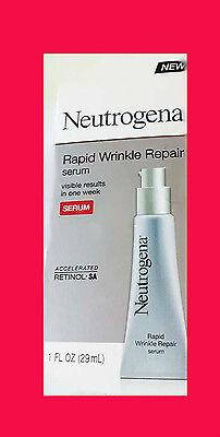 - Neutrogena Rapid Wrinkle Repair Serum, with Hyaluronic Acid, NIB, unisex