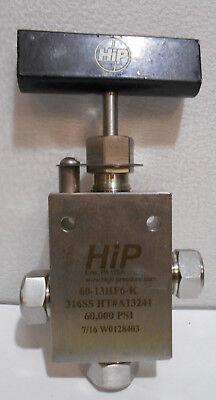 Hip Three-way Valve60-13hf6-k 316ss A13241 60000 Psi