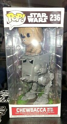 Funko POP! Star Wars Chewbacca With AT-ST #236