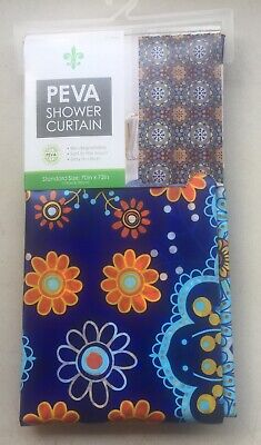 Lightweight PEVA Shower Curtain Liner in Clear: 70