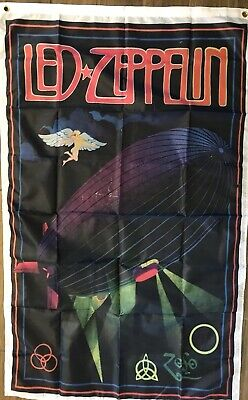 Led Zeppelin Flag 3x5 Electric Magic Vertical Banner Psychedelic Music Festival