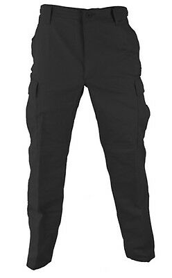 Regular Ripstop Bdu Pants - BDU Genuine Gear NEW Pants military spec Ripstop Black small regular 27-31Waist
