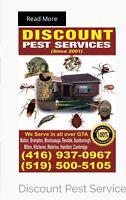 Discount Pest services 519-500-5105