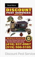 Call 416-937-0967 pest control services