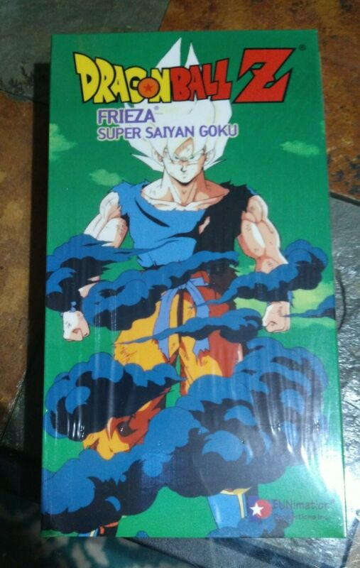Dragon Ball Z - Frieza: SUPER SAIYAN GOKU (VHS, 1999) Factory Sealed New.