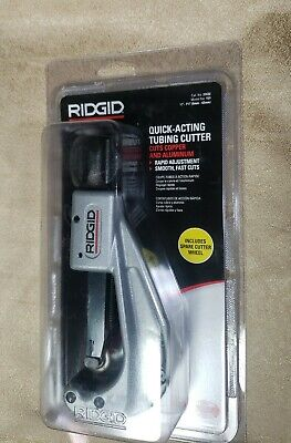 Ridgid 151 14 In. - 1 79 In. Quick Acting Tubing Cutter New