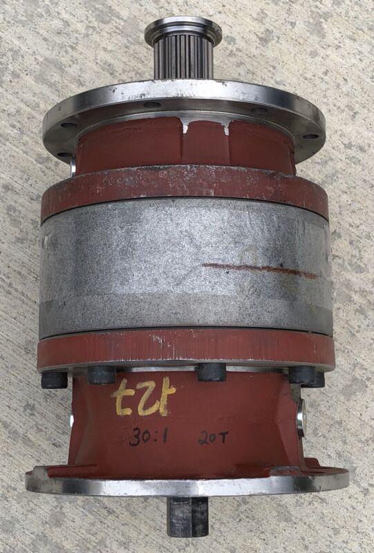 NEW INLINE HYDRAULIC GEAR BOX REDUCER 30-1 RATIO