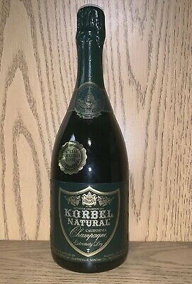 County Sparkling Wine - 1989 Presidential Inauguration Korbel Sonoma County Champagne Wine George H Bush