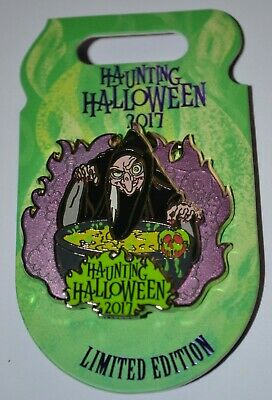 Disney Old Hag Haunting Halloween 3-D Pin 2017 Limited 4500 1st of 4 in Series](Disney Halloween 2017)