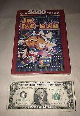 Jr Pac Man Atari 2600 BRAND NEW SEALED Junior Fun Vintage Game! CIB NRFB NIB