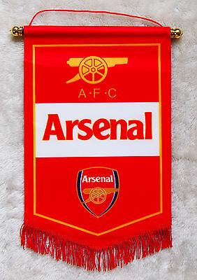 Arsenal FC flag Logo Us Football Soccer League Team Club Emblem Decor
