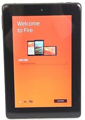 "Amazon Kindle Fire HD7 4th Gen 8GB Wi-Fi  7"" - Black (Scratch & Dent)  24-4C"