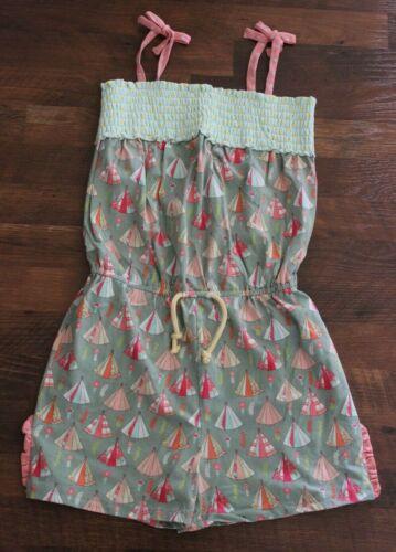 Matilda Jane Happy & Free Campfire Stories Romper Size 14