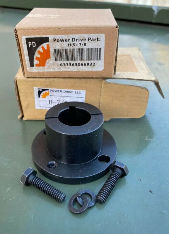 """7/8"""" H Bushing for Electric Motor Pulley Sheave Flywheel New Power Drive Unit"""