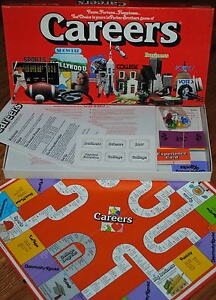 1979 VINTAGE BOARD GAME NEW IN BOX CAREERS parker bros parts sealed