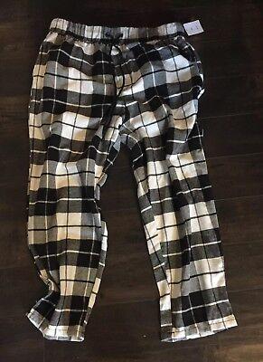 Urban Outfitters, Mens Black & White Plaid Pajamas Pants Sleepwear Reg $39 Black White Mens Sleepwear