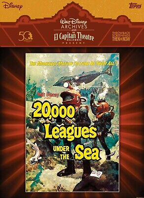 Topps Disney Collect El Capitan Theatre 20,000 Leagues Movie Poster Digital Card