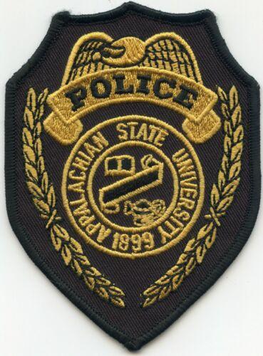 APPALACHIAN STATE UNIVERSITY NORTH CAROLINA NC style #A CAMPUS POLICE PATCH
