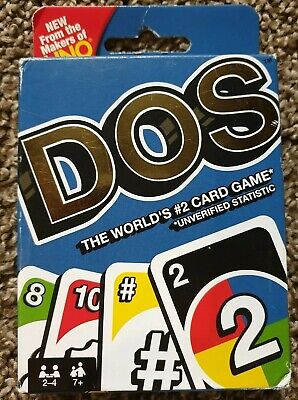 New Mattel Games DOS Card Game