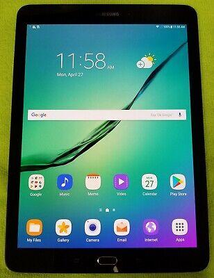 Samsung Tablet Tab S2 32GB Black SM-T817P (Sprint) Android Tablet gd740