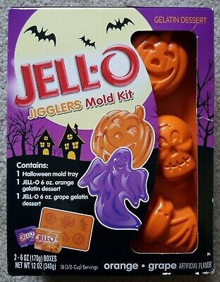 Halloween Jello Molds Sale (Jell-O Jigglers Halloween Mold Set RARE & OOP! NEW & On)