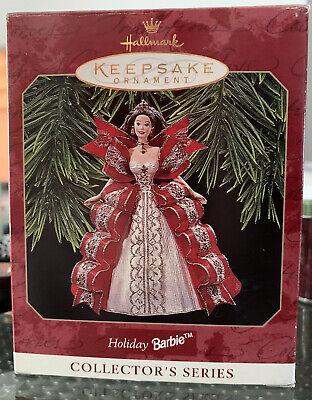 Barbie Hallmark 1997 Keepsake Christmas Ornament Holiday Barbie #5