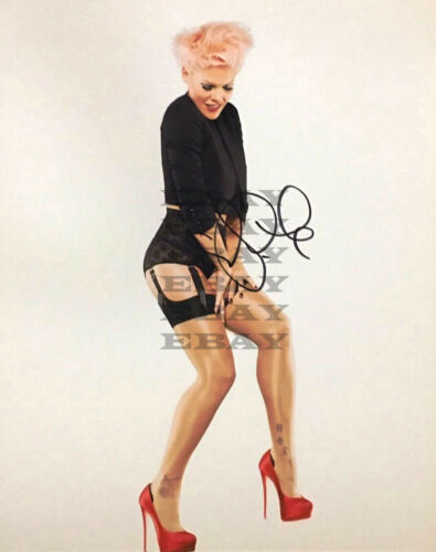 Pink  Autographed signed 8x10 Photo Reprint