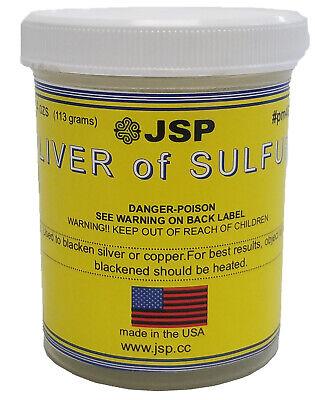 Liver Of Sulfur 4 Ounces