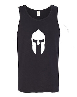 Spartan Warrior Helmet Greek Mens Tank Top ](Greek Spartan)