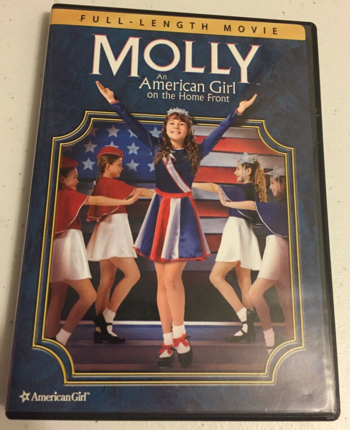 Molly An American Girl On The Home Front - DVD - LKE NEW - $2.99