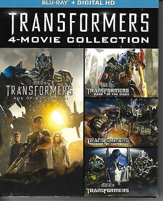 Transformers 4-Movie blu ray Collection