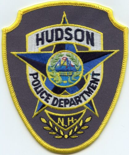 HUDSON NEW HAMPSHIRE NH POLICE PATCH
