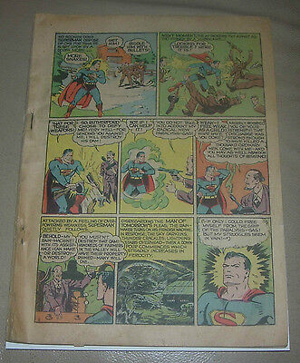 WORLD'S BEST COMICS #1  DC GOLDEN AGE 1941  SUPERMAN BATMAN  ZATARA