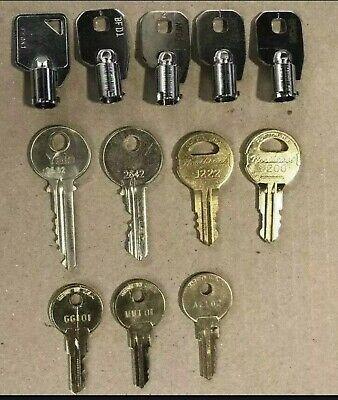 Elevator Service And Fire Keys Set New! Set Of 12 Original